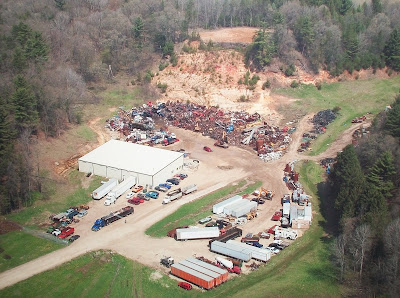 Runick Metal Recycling Arial View